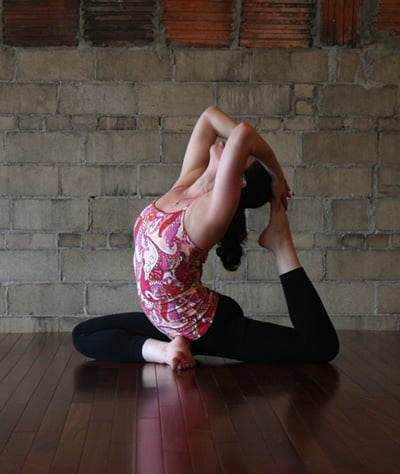 How to Do One-Legged King Pigeon Pose