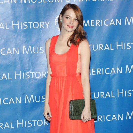 Emma Stone and Andrew Garfield Pictures at Museum Gala
