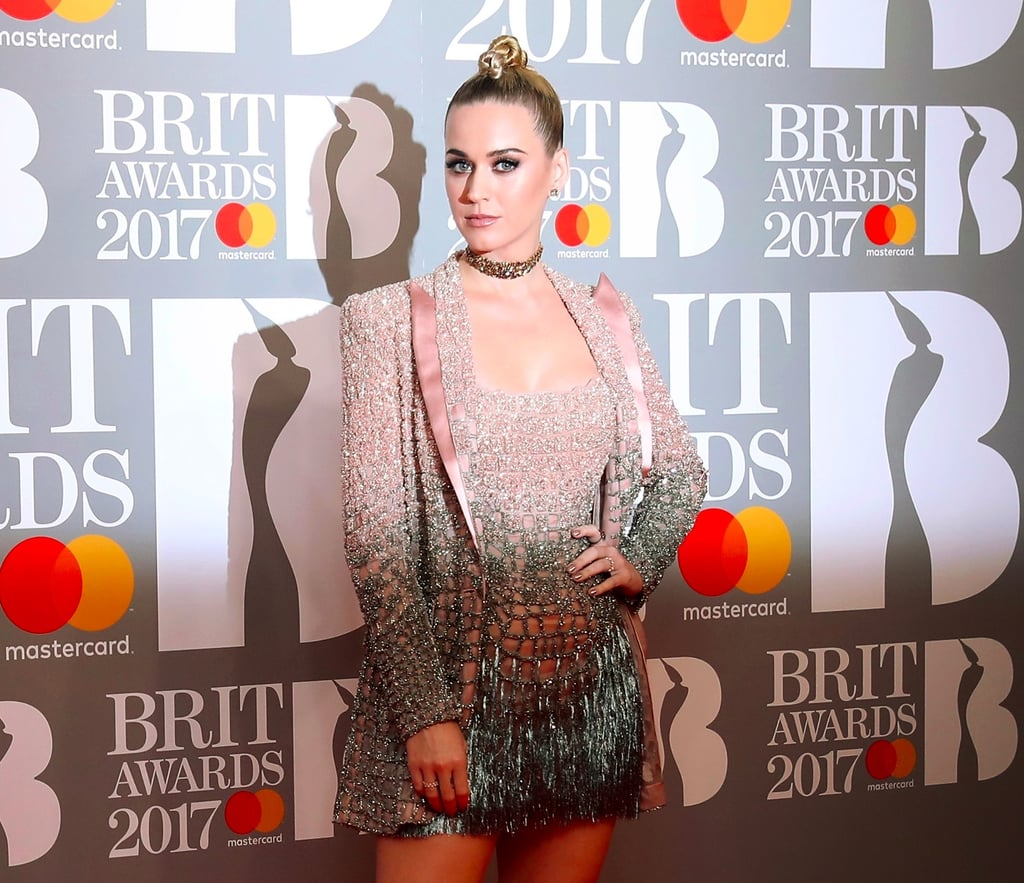 Katy Perry's Hair and Makeup at the Brit Awards 2017