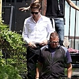 Robert Pattinson Keeps His Head Down and Gets to Work on Cosmopolis