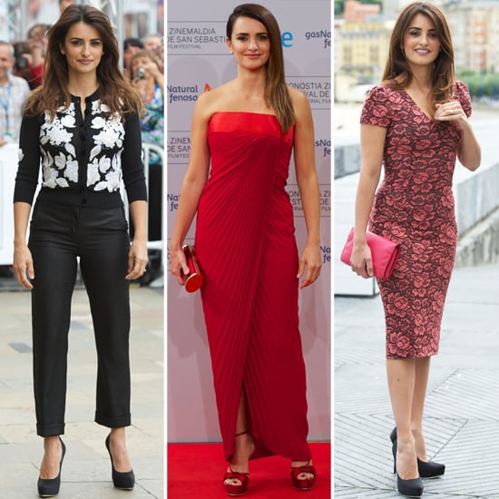 Penelope Cruz's Style at the 60th San Sebastian Film Festival