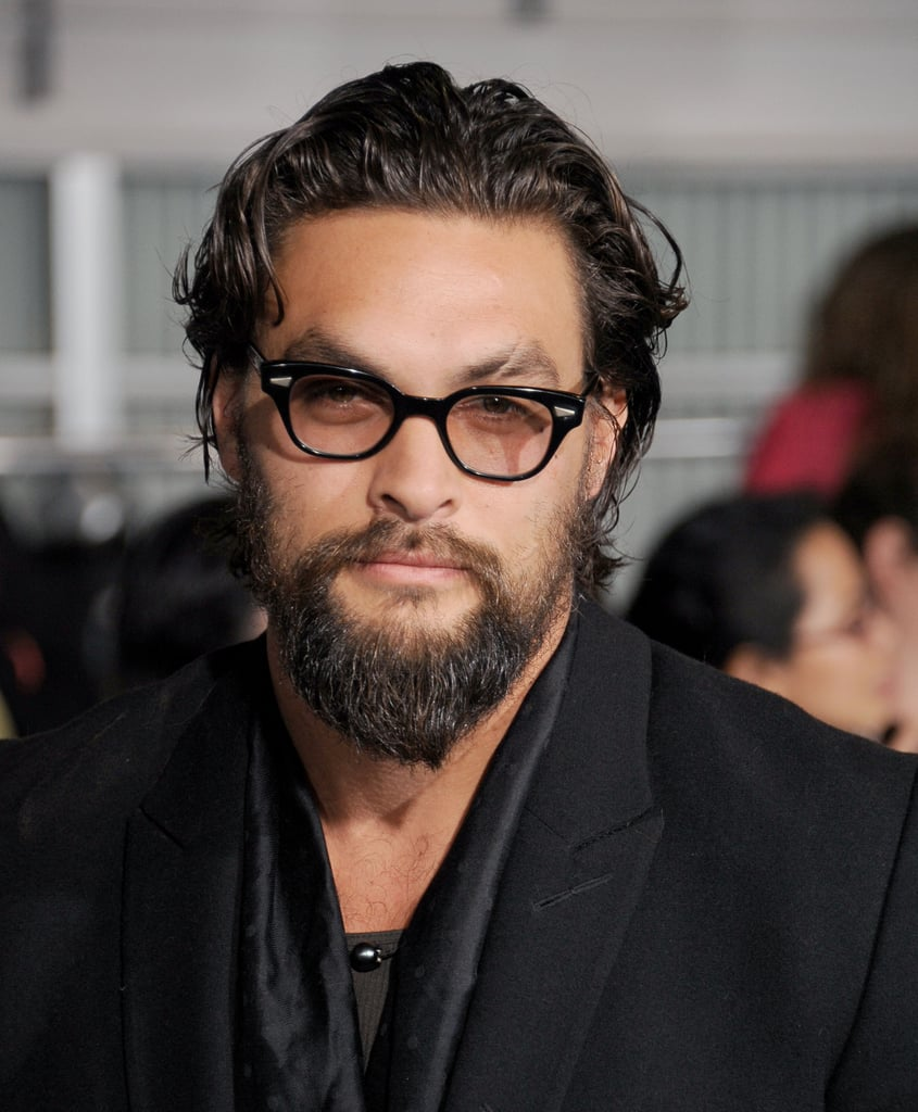 """Jason Momoa Glasses: """"If I Have To Reorganize This Shelf ONE More Time"""
