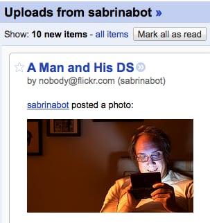Geek Tip: Follow Flickr Streams Via RSS or Delicious