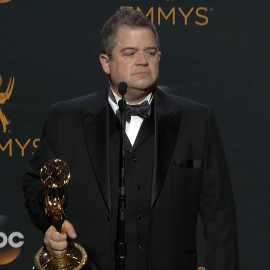 Patton Oswalt Talks About His Wife at the Emmys 2016 (Video)