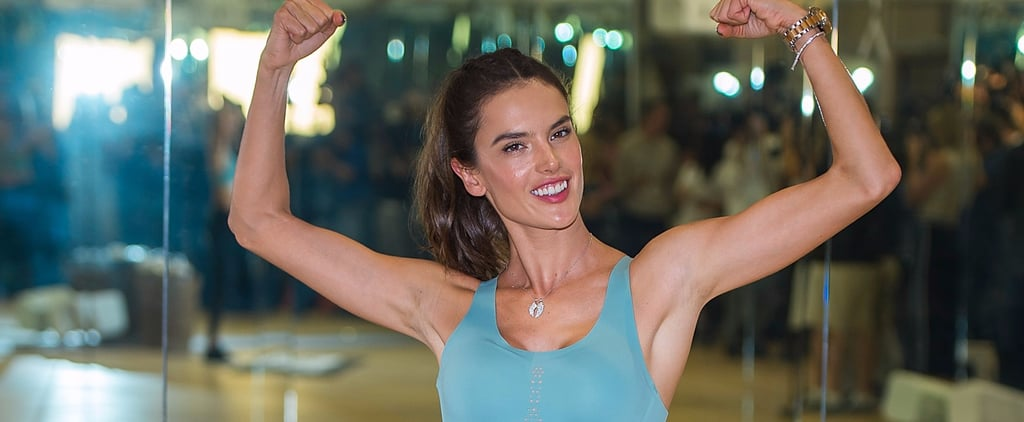 This Is Exactly How Alessandra Ambrosio Is Prepping For the Victoria's Secret Fashion Show