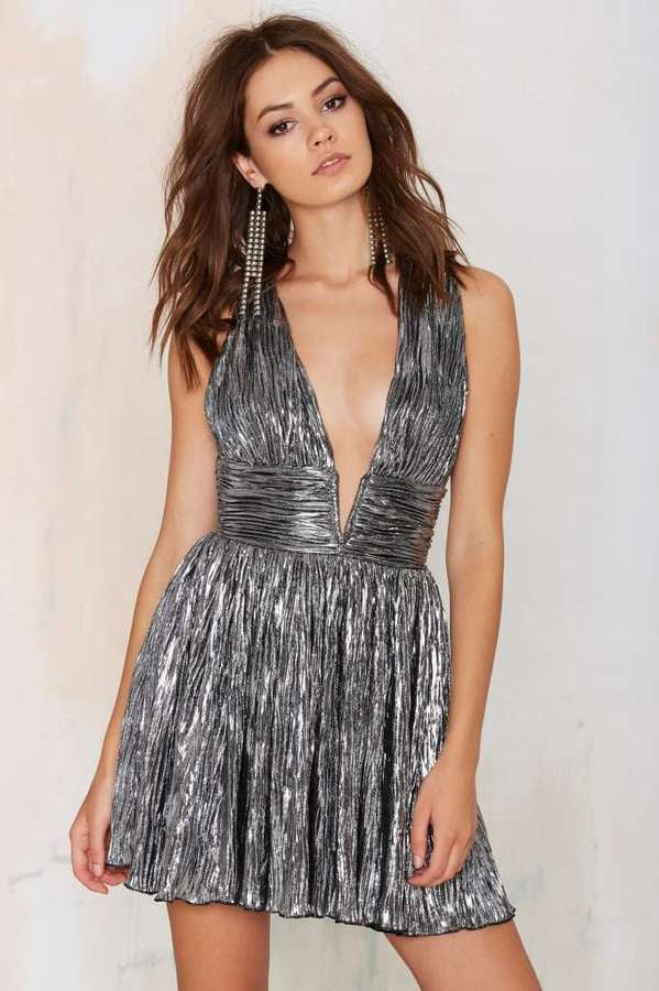 1f13e0311b5 Nasty Gal Gilt Trip Metallic Dress ( 68)