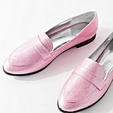 Urban Outfitters Gigi Glitter Loafer