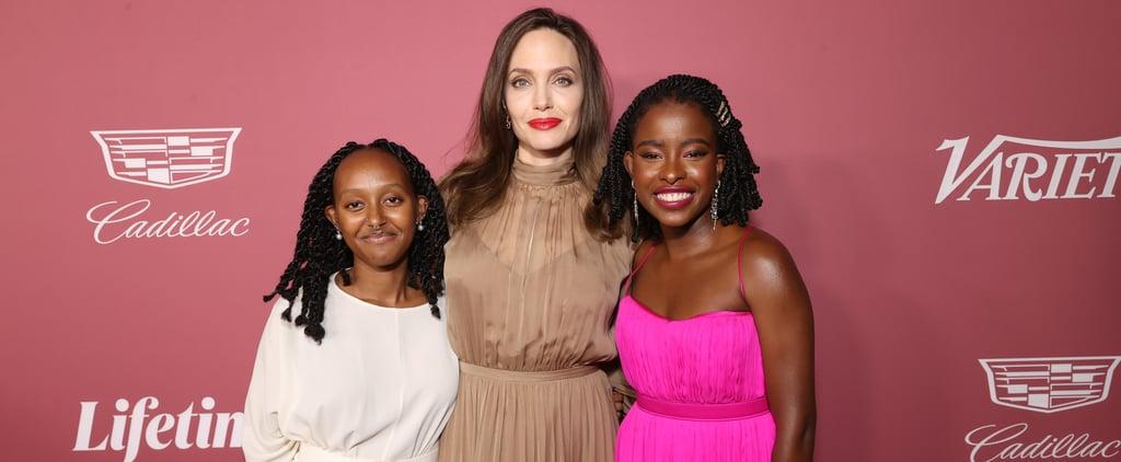 Zahara Jolie-Pitt Attends a Variety Event With Mom Angelina