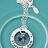 Blessed Mom Birthstone Necklace