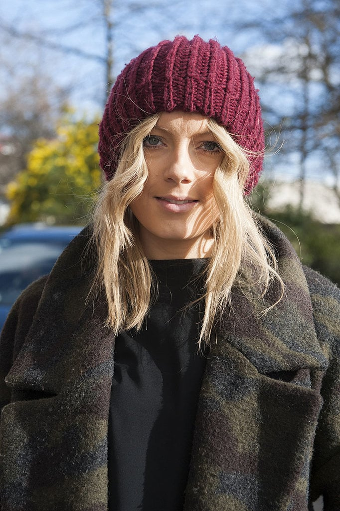 12b02d8362e How to Wear Your Hair Under a Hat or Beanie