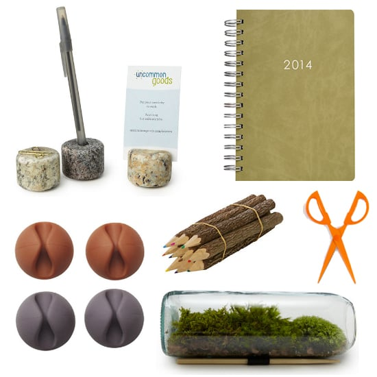 Earthy Desk Accessories to Fall For