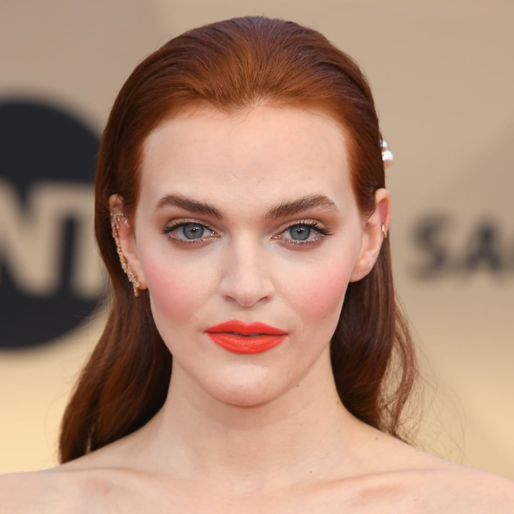 madeline brewer hair and makeup at the 2018 sag awards | popsugar beauty