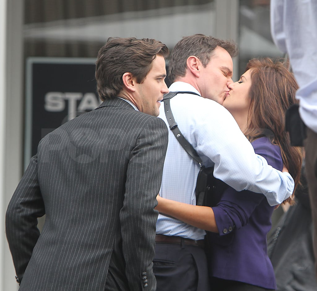 Matt Bomer looked on while Tim and Tiffani made out.