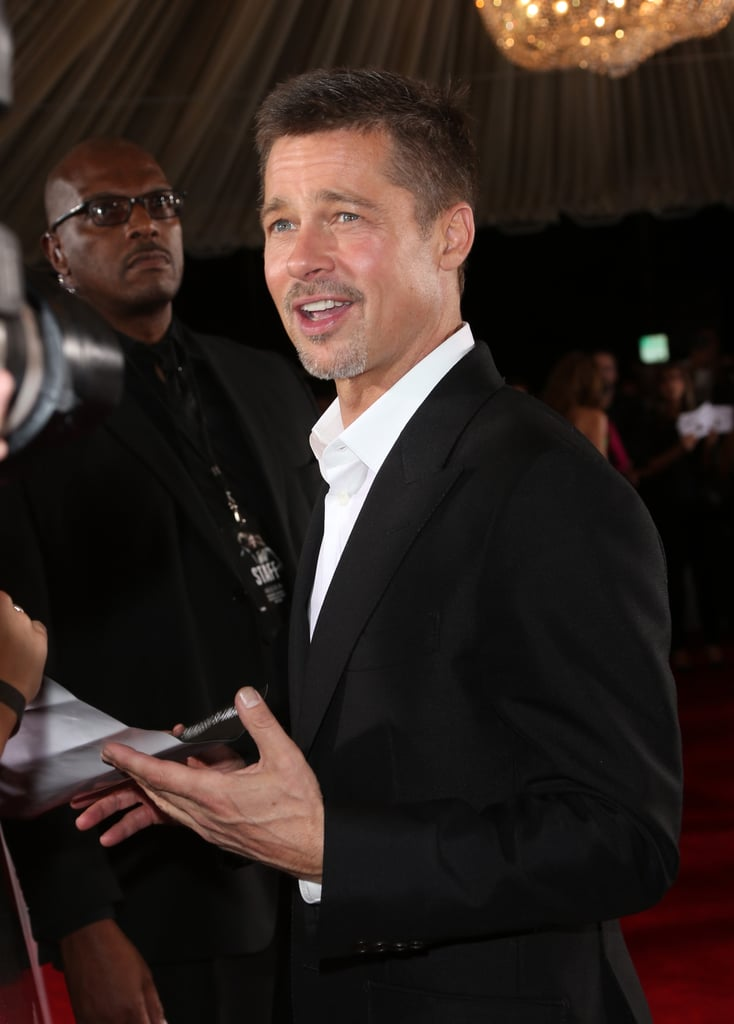 Brad Pitt at Allied LA Premiere Pictures 2016 November