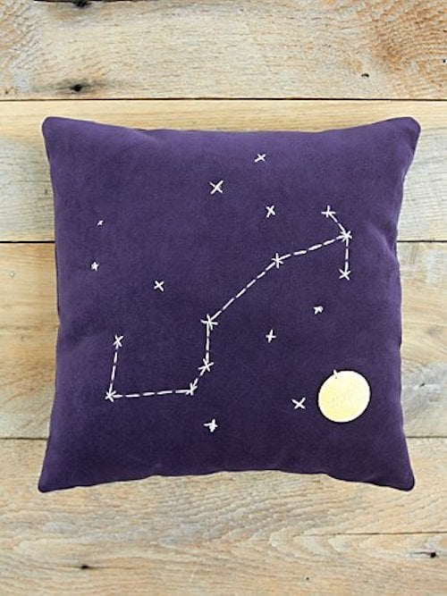 Scorpio Star Sign Pillow ($98)