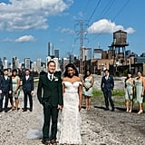Trendy Urban Wedding