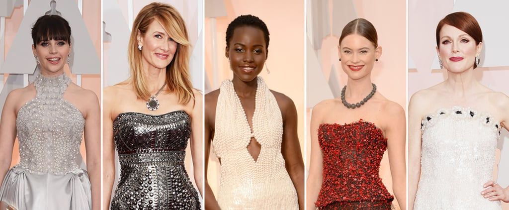 Whose Embellished Dress Do You Want to Reach Out and Touch?