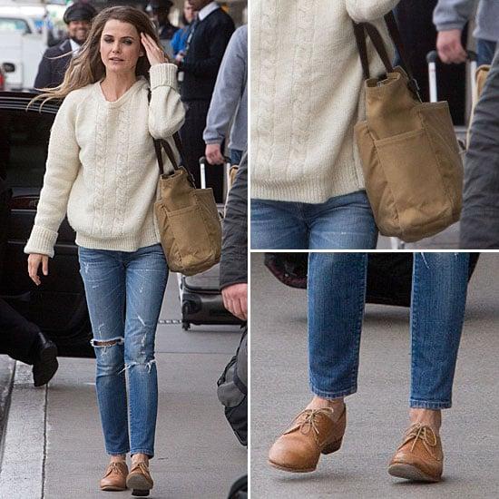 Keri Russell's Street Style   Jan. 10, 2013