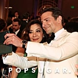 Pictured: Michelle Yeoh and Bradley Cooper