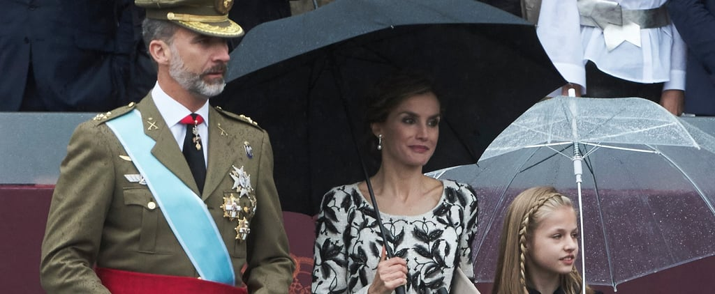 Queen Letizia's Floral Dress Oct. 2016