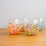 Hand-Dotted Tumblers