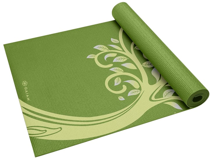 Gaiam Print Yoga Mat Best Yoga Mats On Amazon Popsugar