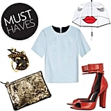 From the perfect pair of red heels to a personality-packed umbrella, our  January must haves have something for everybody.