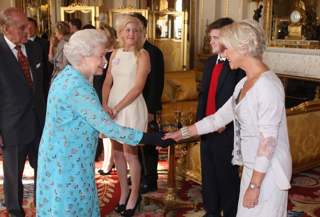 Royals Meeting Actors Who Played Them Pictures