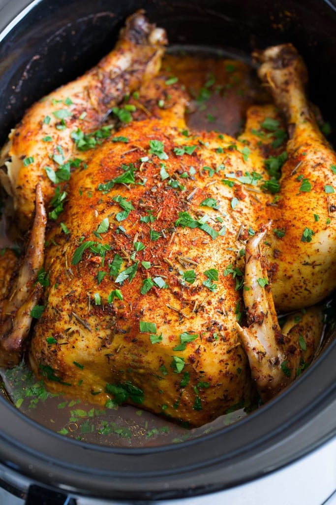 29 Chicken Recipes Made in a Slow Cooker