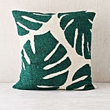 Urban Outfitters Assembly Home Crewel Palms Pillow