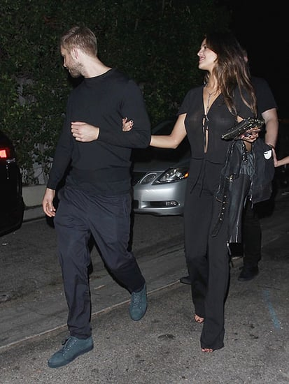 Calvin Harris and Eiza González Have Been 'Talking and Hanging Out,' Says Source