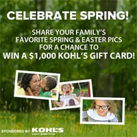 Show Us How Your Family Celebrates Spring — You Could Win a $1,000 Kohl's Gift Card