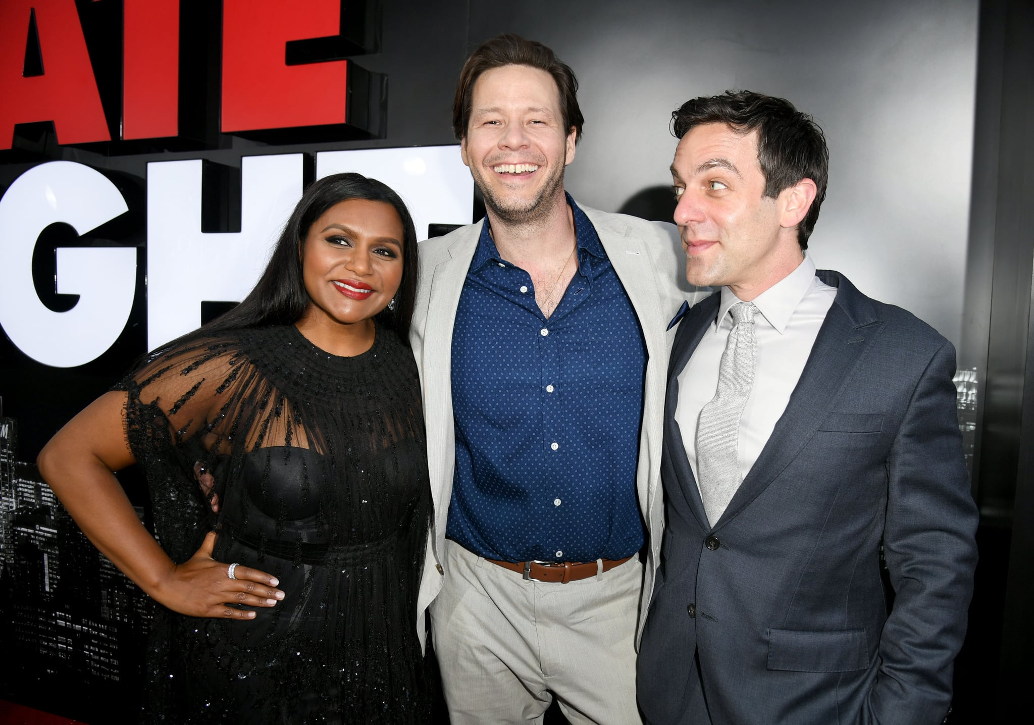 Mindy Kaling And Ike Barinholtz At Late Night Premiere Video Popsugar Celebrity
