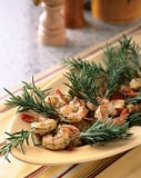 Skewered Rosemary Shrimp with Mint Pesto