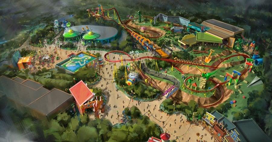 Toy Story Land At Walt Disney World New Disney Park
