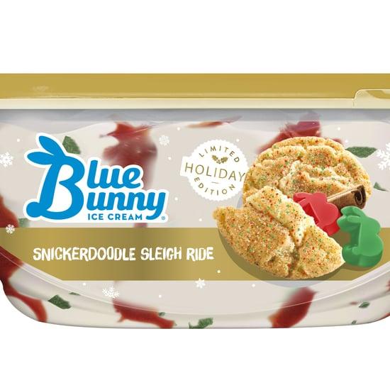 Blue Bunny Holiday Ice Cream