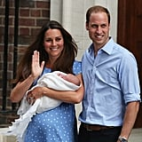 July 2013: Welcome Prince George