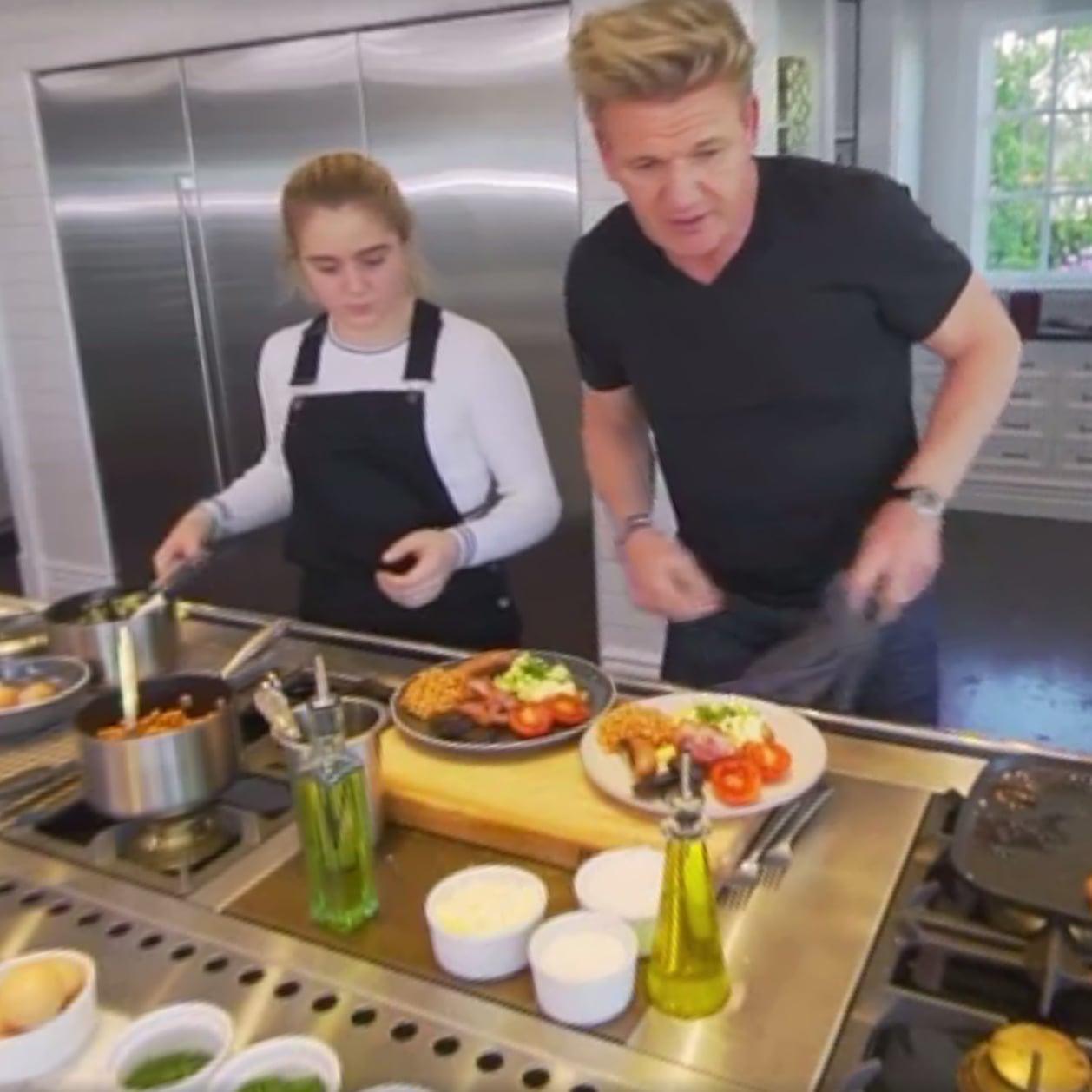 Home Kitchen Cooking gordon ramsay's home kitchen | popsugar food