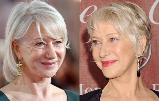 Dame Helen Mirren Chops Off Her Hair