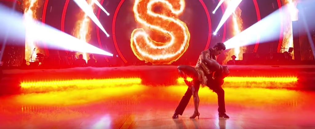 Simone Biles's DWTS Performance Is So Fiery She Almost Burned a Hole in the Floor