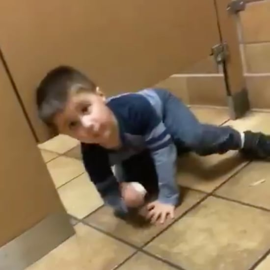 Toddler Interrupts Man in Chick-fil-A Bathroom