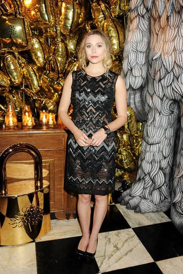 Elizabeth Olsen at Mulberry's Dinner