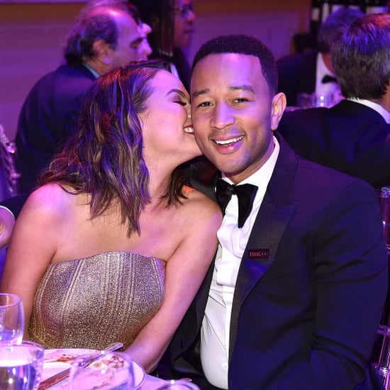 Chrissy Teigen and John Legend at Time 100 Gala 2017