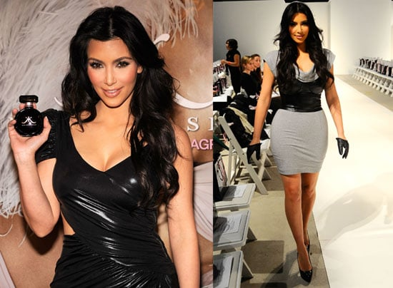 Photos of Kim Kardashian Attending a Sephora Event For Her Fragrance in NYC