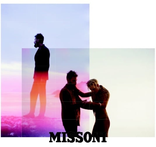 Missoni shows us the power of cool photography in its latest Fall campaign.