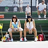Natalie Morales as Rosie Casals in Battle of the Sexes
