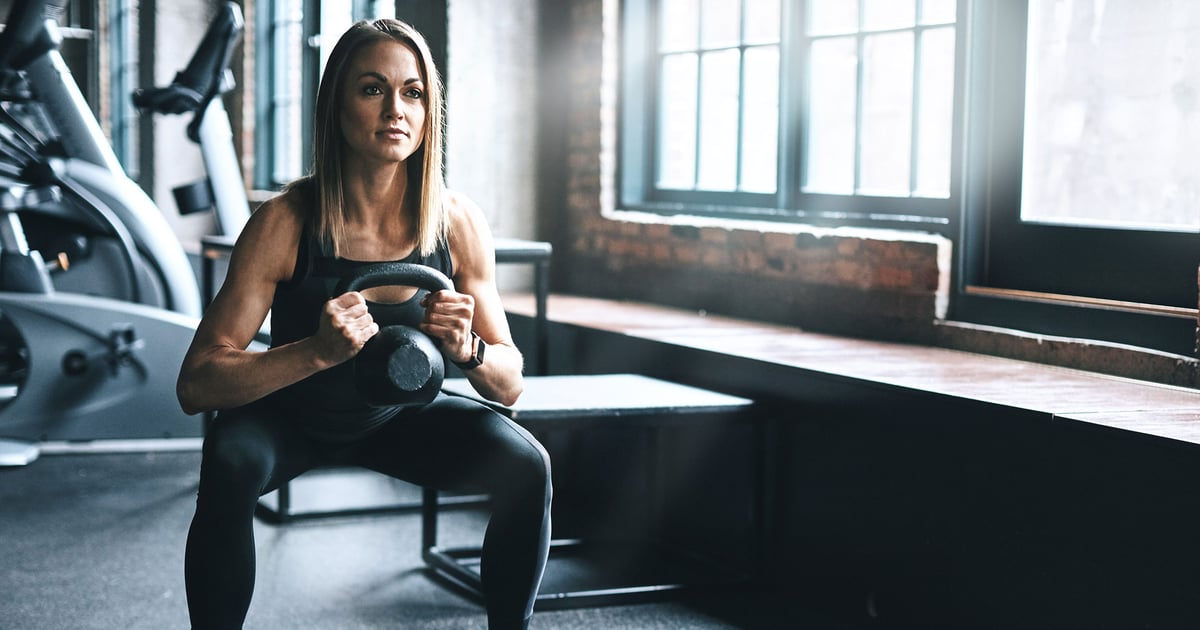 You Only Need 1 Kettlebell For This Total-Body Workout That'll Crush You in 10 Minutes