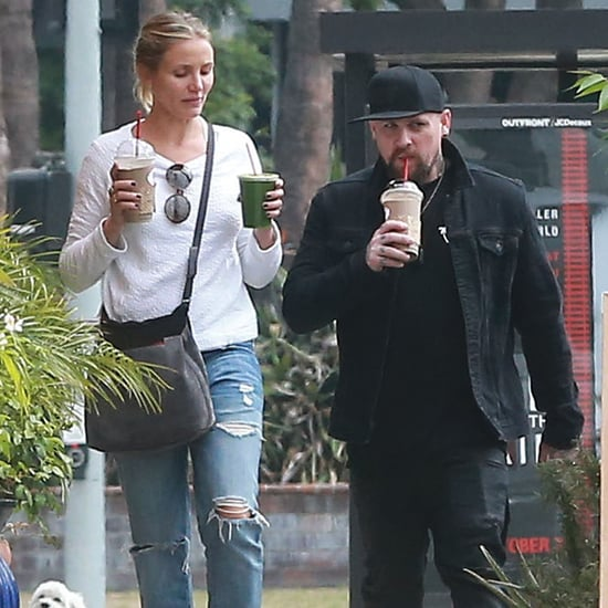 Benji Madden and Cameron Diaz Out in LA September 2016