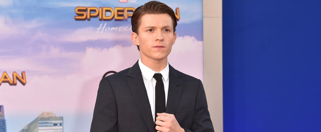 Tom Holland Working Out