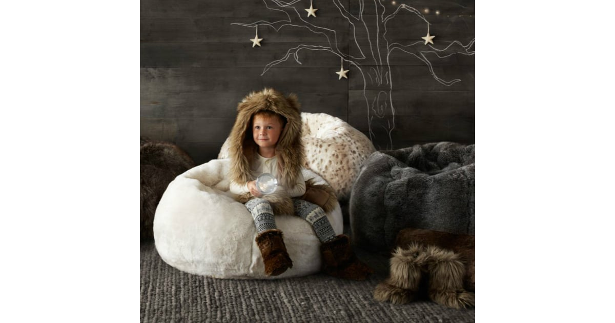 RH Baby Child Faux Fur Bean Bags